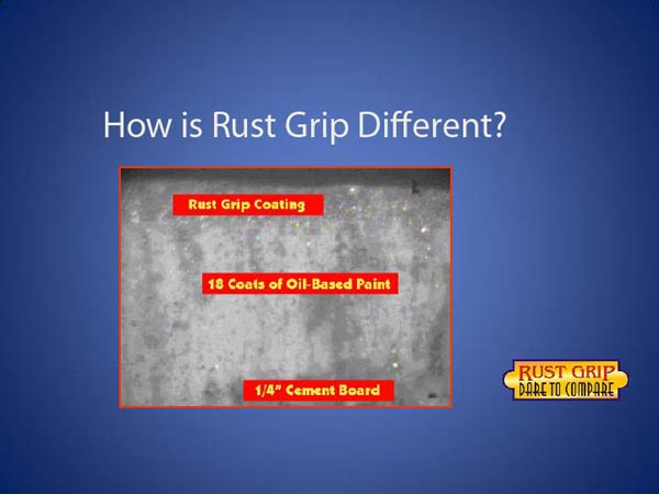 RUST GRIP - CORROSION PROTECTION paint