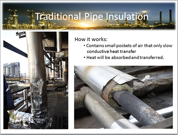HOT PIPE COATING - HIGH LOW TEMPERATURE INSULATION COATING